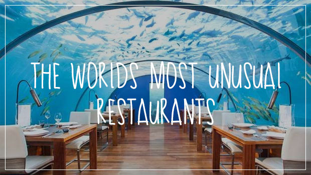 The world 39 s most unusual restaurants for Cheap romantic things to do in nyc