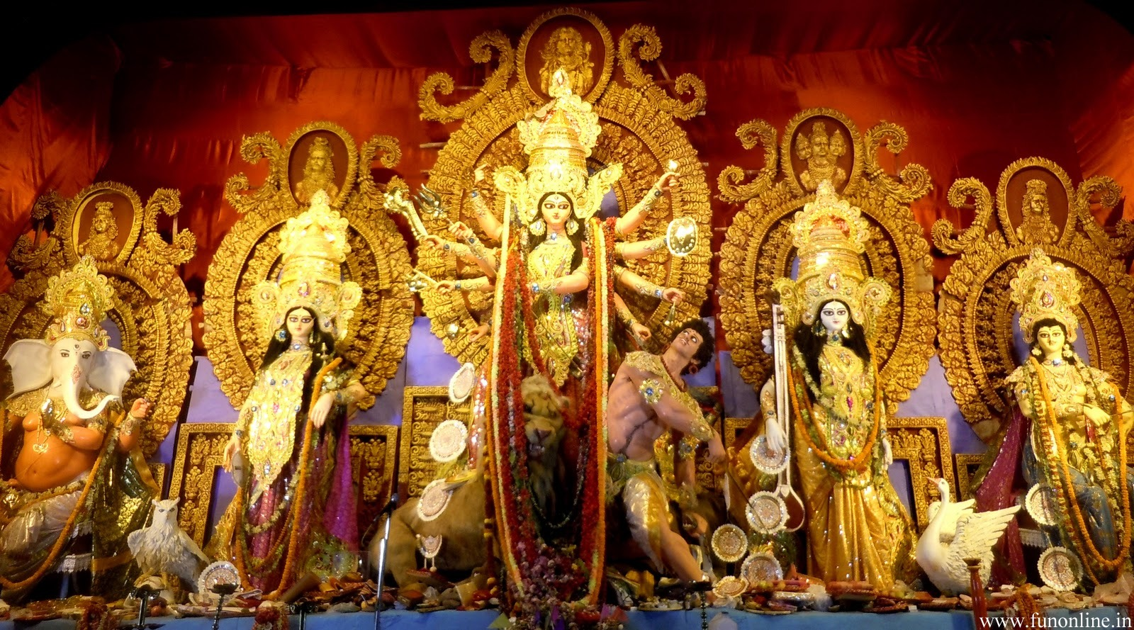 wallpaper of durga puja