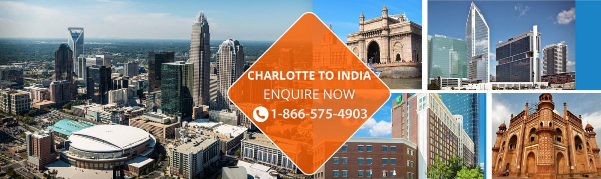 Flights from Charlotte to India