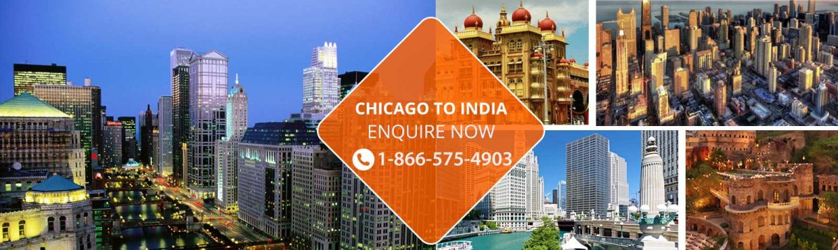 Flights from Chicago to India
