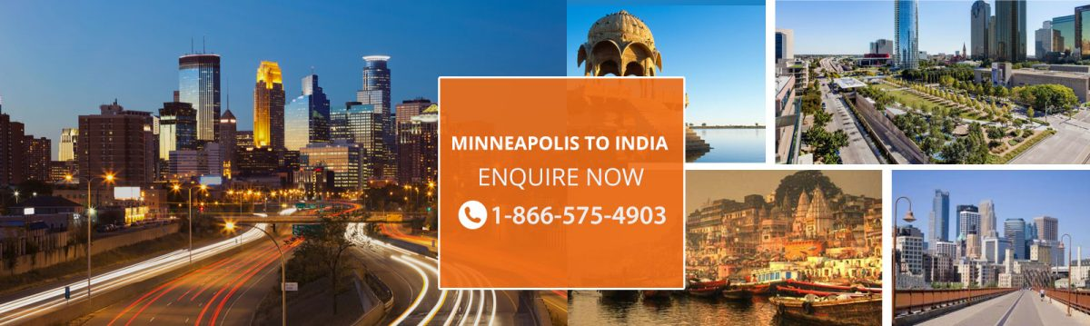 Top Flights from Minneapolis to India