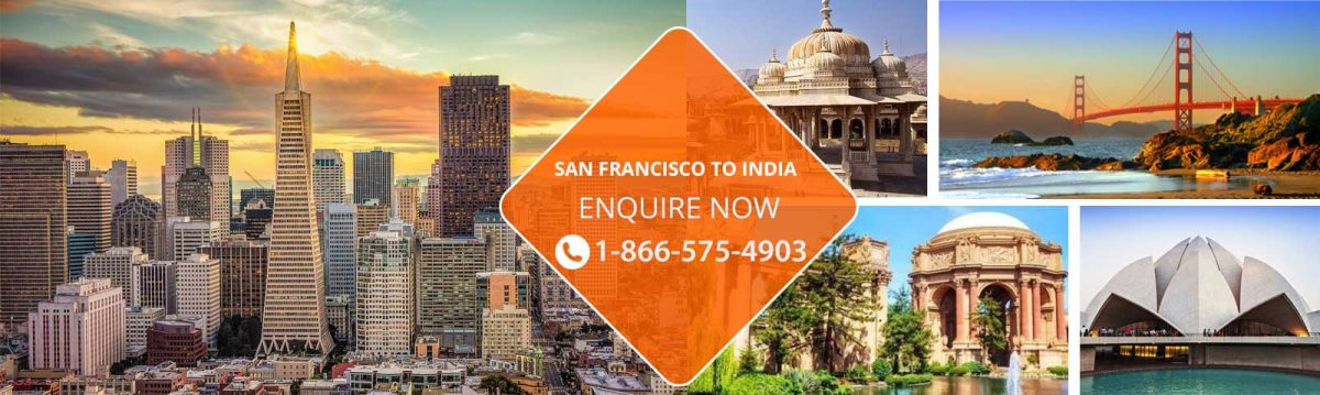 Top Flights from San Francisco to India