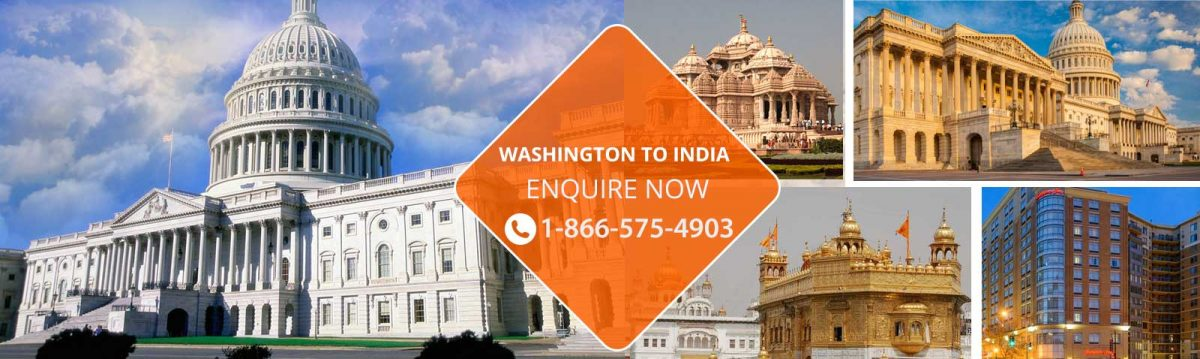 Top Flights from Washington to India